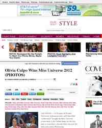 Miss Universe 2012!: Huffington Post